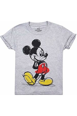 Disney Mickey Mouse - Coloured in - Girls T Shirt Sport - XXL