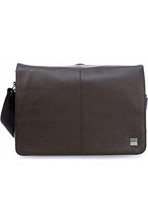"Knomo 154-112-BRN""Bungo"" Expandable Messenger Bag for 15.6-Inch Laptop"