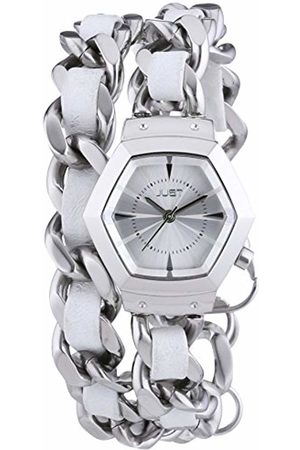 Just Watches Ladies Watch Quartz Analog Stainless Steel 48-S2244-WH
