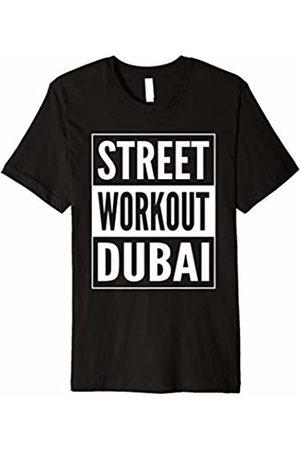 Geeksta Street Workout Shirt Street Workout Dubai T-Shirt Urban Fitness Training Design