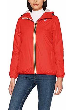 K-Way Women's Le VRAI 3.0 Claudette Orsetto Waterproof Jacket ( K08)