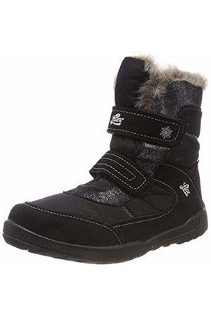 LICO Girls' Meredith V Snow Boots, Schwarz/Grau