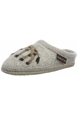 Haflinger Unisex Kids' Gesa Walktoffel Open Back Slippers