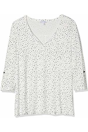 GINA LAURA Women's Shirt Relaxed Auschnitt Mit Schlitz Sweatshirt