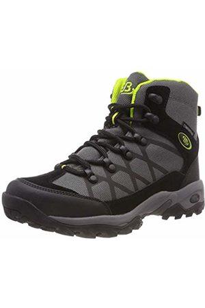 Bruetting Unisex Adults' Mount Hubbard High Rise Hiking Shoes, Grau/Schwarz/Lemon