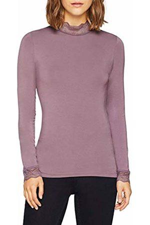 Noa Noa Women's Basic LACE Longsleeve T - Shirt