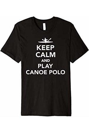 Canoe polo Tshirts Keep calm and play canoe polo T-Shirt