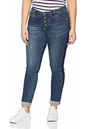 GINA LAURA Women's Jeans Ng Julia Band Tonig Seitlich Slim