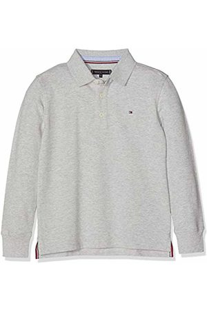 Tommy Hilfiger Boy's Essential Polo L/s Shirt ( Heather 004)