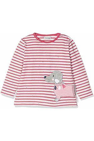 Salt & Pepper Salt and Pepper Baby Girls' B Longsleeve Mon Amie Stripe T - Shirt (Paradise Melange 842)