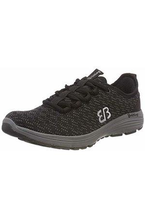Bruetting Unisex Adults' Highspeed Training Shoes, Schwarz/GRAU