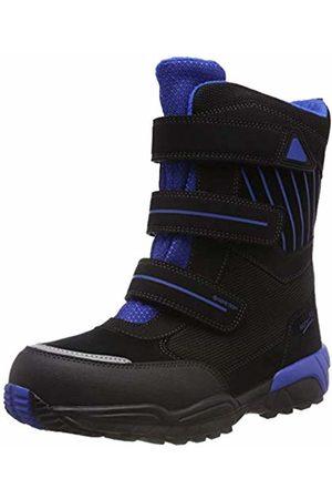 Superfit Boys' Culusuk Snow Boots, (Schwarz/Blau 01)