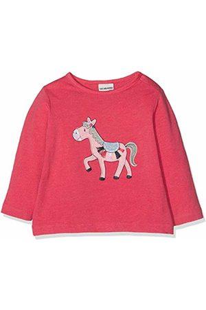 Salt & Pepper Salt and Pepper Baby Girls' B Longsleeve Mon Amie Esel T - Shirt (Paradise Melange 842)
