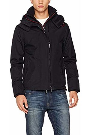 Superdry Men's Tech Hood Pop Zip Windcheater Sports Jacket