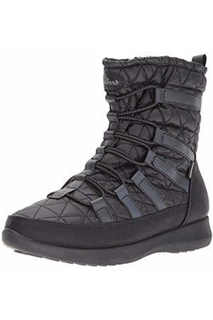 Skechers Women's Boulder - East Stone Snow Boots ( Blk)