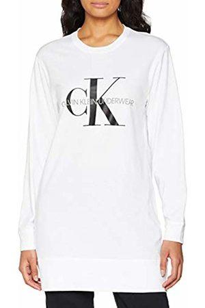 Calvin Klein Women's L/s Nightshirt Nightie ( 100)