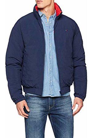 Tommy Hilfiger Men's TJM Reversible Jacket, ( Iris/Samba 002)
