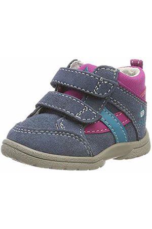 Bruetting Baby Girls' Spooky V Low-Top Sneakers, Blau/ /Tuerkis