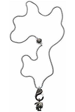 Diesel Men Necklaces - Men Stainless Steel Pendant Necklace - DX1148040