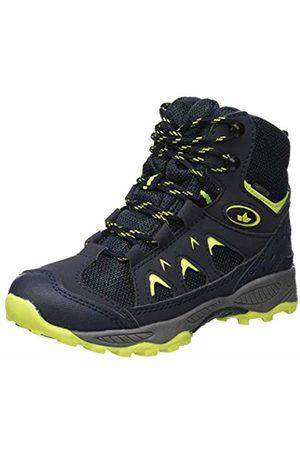 LICO Unisex Kids' Cascade Snow Boots, Marine/Lemon
