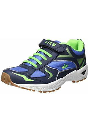 LICO Unisex Kids' Bob Vs Multisport Indoor Shoes, Blau/Marine/Gruen