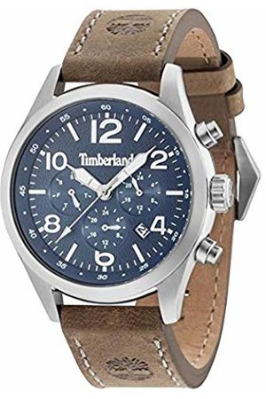 Timberland Ashmont Gents Watch 15249JS/03 - Navy Dial Leather Strap