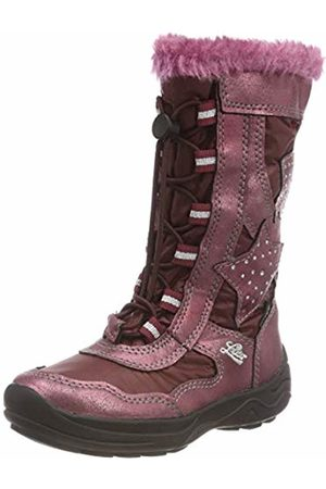 LICO Girls' Cathrin Snow Boots, Bordeaux