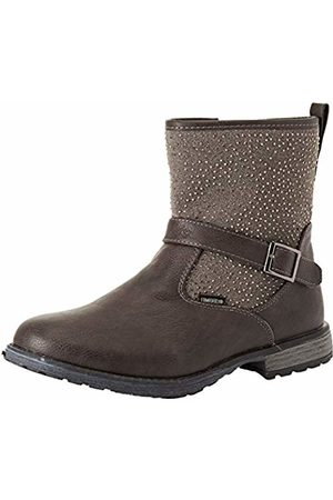 LICO Girls' Ria Ankle Boots, Anthrazit