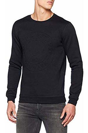 Solid Men's 6187614 Crew Neck Long Sleeve Sweatshirt - - XX-Large