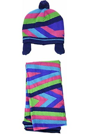 Tuc Tuc Girl's Tricot Yeti and Co Scarf, Hat and Glove Set