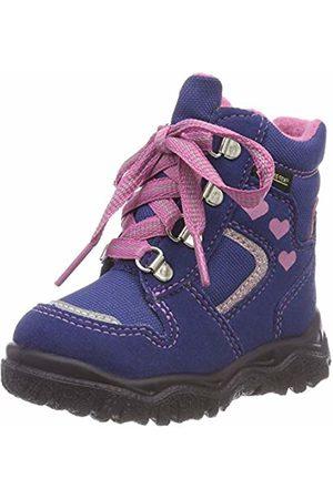 Superfit Girls' HUSKY1 Snow Boots, (Blau/rosa 80)