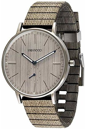 WeWood Mens Analogue Quartz Watch with Wood Strap WW63001