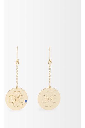 Aurélie Bidermann Clover Sapphire & Earrings - Womens