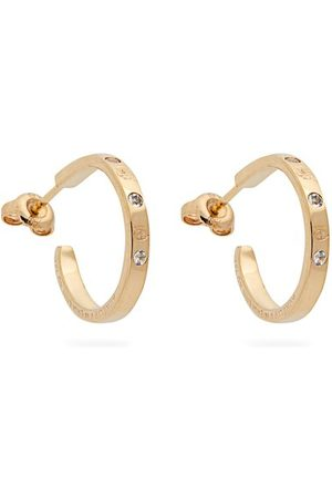 Aurélie Bidermann Topaz & 18kt Hoop Earrings - Womens