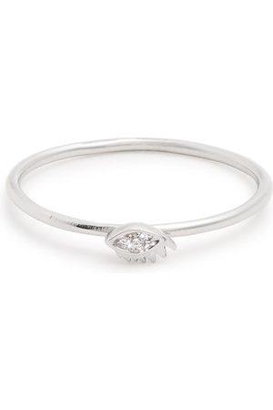 DELFINA DELETTREZ Women Rings - Diamond & White-gold Ring - Womens
