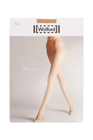 Wolford Pure 10 Tights - Womens - Nude