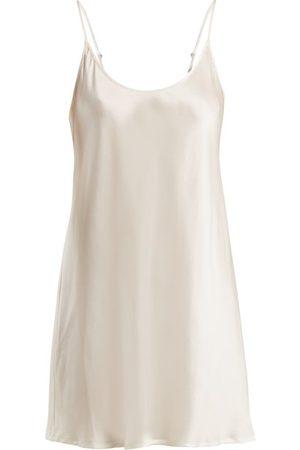 La Perla Semplice Silk-satin Slip Dress - Womens - Ivory