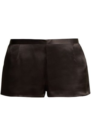 La Perla Silk-satin Pyjama Shorts - Womens