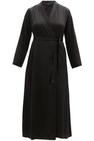 Women Bathrobes - La Perla - Silk Satin Robe - Womens