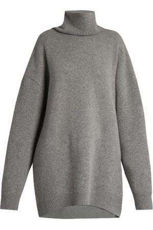 Raey Displaced Sleeve Roll Neck Wool Sweater - Womens
