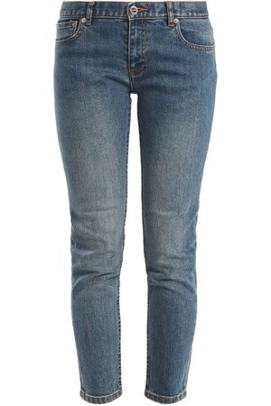 A.P.C Etroit Court Low Rise Skinny Jeans - Womens