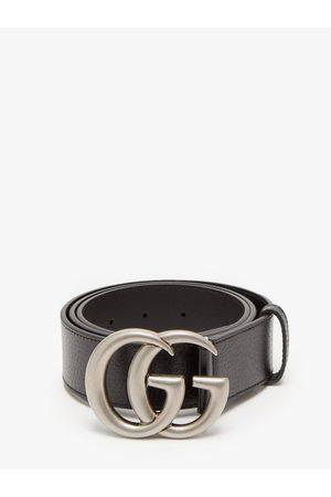 Gucci GG Leather Belt - Mens