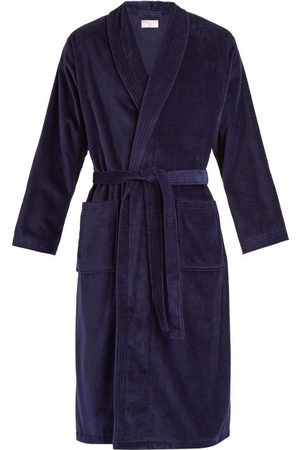 DEREK ROSE Triton Cotton-velour Bathrobe - Mens