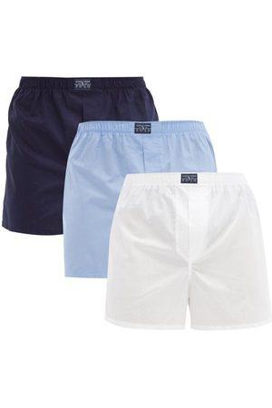 Polo Ralph Lauren Pack Of Three Cotton Boxer Briefs - Mens