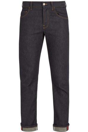 Gucci Mid-rise Straight-leg Jeans - Mens