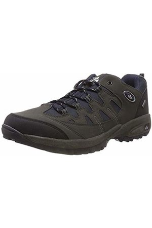 LICO Shoes - Unisex Adults' Steppe Low Rise Hiking Shoes, Marine/Grau