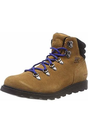 sorel Kids' Youth Madson Hiker Waterproof Boot, (Camel )
