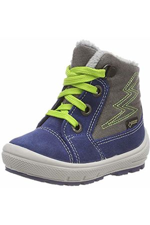 Superfit Boys' Groovy Snow Boots, (Blau/grün 81)