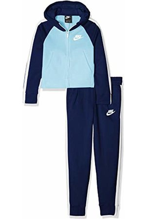 Nike Girl's G NSW TRK Suit Pe Tracksuit Void/ Chill 478