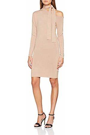 Lost Ink Women's ONE Shoulder TIE Neck Dress ( 0014)